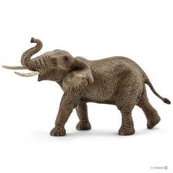 Schleich 14762 divoké zvieratko Slon africký samec