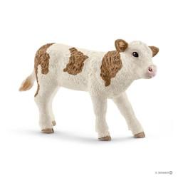 Schleich 13802 domáce zvieratko Simentálske teliatko