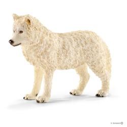 Schleich 14742 divoké zvieratko vlk arktický