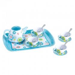 PLAY GO Detská čajová súprava - s kvietkami