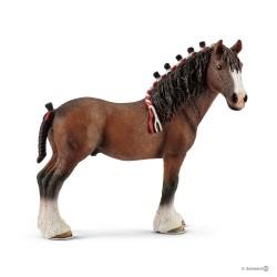 Schleich 13808 domáce zvieratko Clydesdalský kôň valach