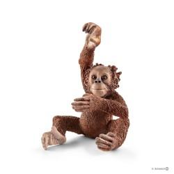 Schleich 14776 divoké zvieratko opica orangutan mláďa