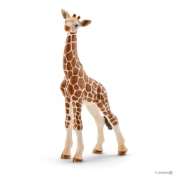 Schleich 14751 divoké zvieratko žirafa štíhla mláďa
