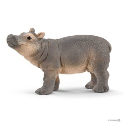 Schleich 14831 divoké zvieratko hroch obojživelný mláďa