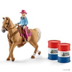 Schleich 41417 set jazdkyňa cowgirl na koni