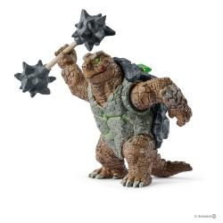 Schleich 42496 bojová bytosť Bojová korytnačka so zbraňou