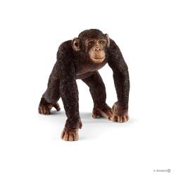 Schleich 14817 divoké zvieratko opica šimpanz samec