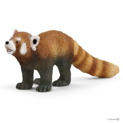 Schleich 14833 lesné zvieratko panda červená