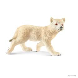Schleich 14804 divoké zvieratko vlk arktický mláďa