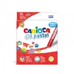 CARIOCA farebné olejové pastelky 24 kusov