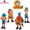 Bullyland Wickie Viking rozprávkové figúrky - 4-dielny set