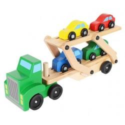ISO Trade 9353 Drevený kamión na prepravu áut