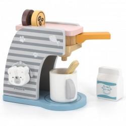 VIGA PolarB drevený detský kávovar s doplnkami