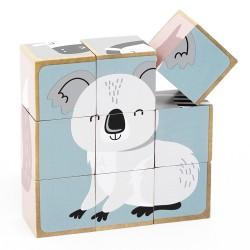 VIGA PolarB drevené obrázkové kocky
