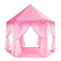 ISO Trade 6104 Detský stan ružový