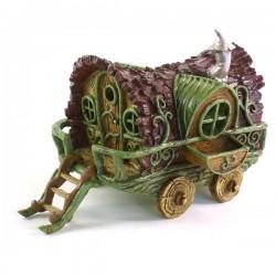 Domček pre miniatúrne záhradky - Cigánsky karaván