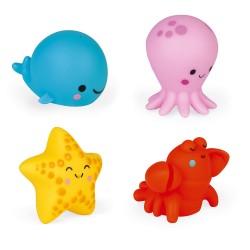 JANOD Sada hračiek do vane - Morské zvieratká