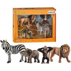 Schleich 42387 sada divokých zvieratiek 4 ks štartovacia sada Wild Life