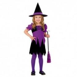 Detský karnevalový kostým - Bosorka veľ.110 cm