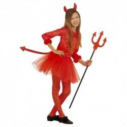 Detský karnevalový kostým - Čertica