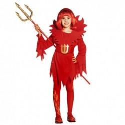 Detský karnevalový kostým - Čertica veľ.128cm