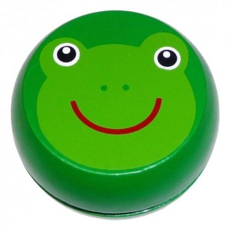 Drevené jojo - žabka