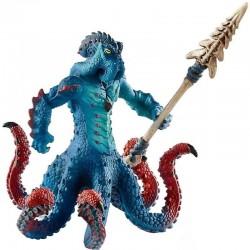 Schleich 42449 bojová bytosť Chobotnica so zbraňou