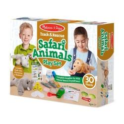 Melissa & Doug Set pre malých ošetrovateľov safari zvieratiek