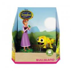 Bullyland Rapunzel 2-dielna sada - Rapunzel a žltý Pascal