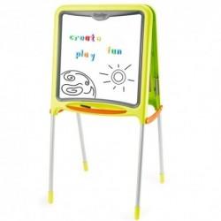 SMOBY Detská obojstranná tabuľa - zelená