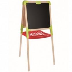 SMOBY Detská obojstranná tabuľa z dreva