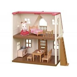 Sylvanian Families 5303 Základný poschodový domček s červenou strechou