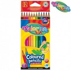 Colorino Kids farebné ceruzky šesťhranné - 12 farieb