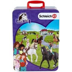 Schleich Klein 3115 Zberateľský kufrík na Schleich kone.