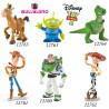 Bullyland Toy Story rozprávkové figúrky - 6-dielny set