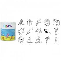 HEYDA Detské pečiatky - 15 kusové - Holiday