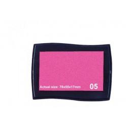 Poduška pre pečiatky - ružová farba