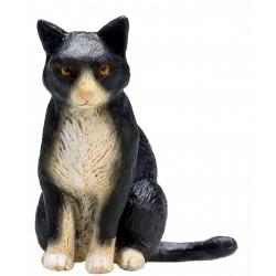 Animal Planet 387371 Mačka čiernobiela sediaca