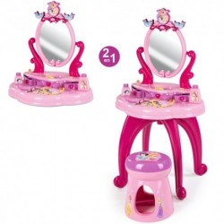 SMOBY Detský toaletný stolík Princess so stoličkou