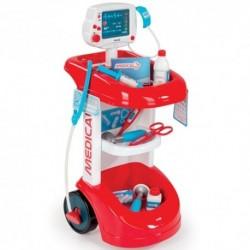 SMOBY Detský lekársky vozík s tlakomerom