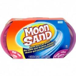 Moon Sand - náhradné balenie 50 dkg - ružová a fialová farba
