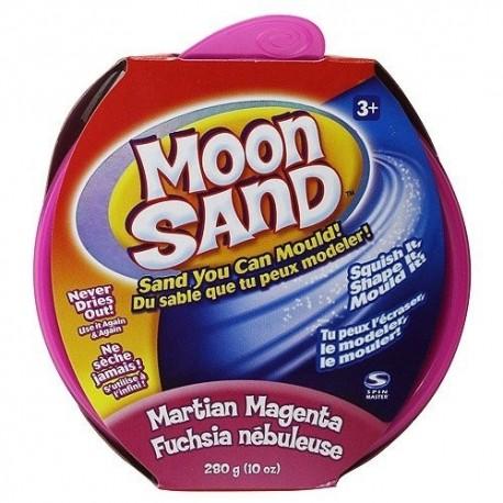 Moon Sand náhradné balenie 28 dkg - magenta ružová farba