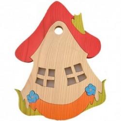 Detské nástenné svietidlo - domček