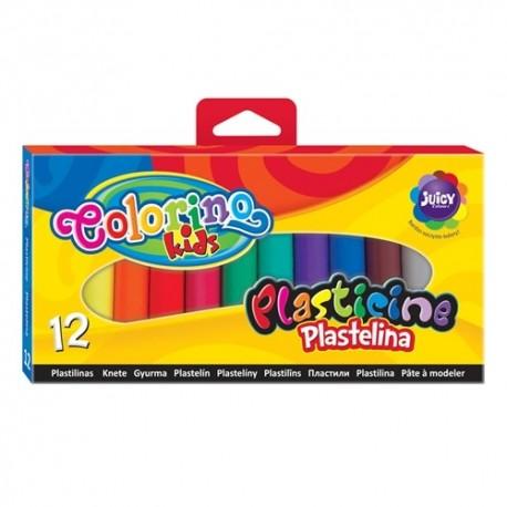 Colorino Kids farebná plastelína 12 farieb