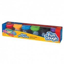 Colorino Kids farebná plastelína 6 farieb v kelímkoch