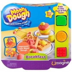 Moon Dough - mesačná plastelína - Raňajky