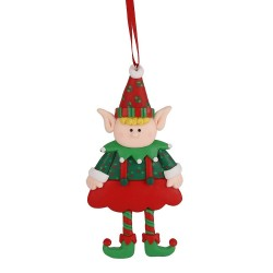 Ozdoba na vianočný stromček - Škriatok chlapček