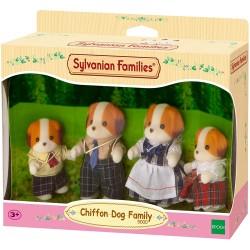 Sylvanian Families 5000 Rodina Chiffon psíkov 4-členná