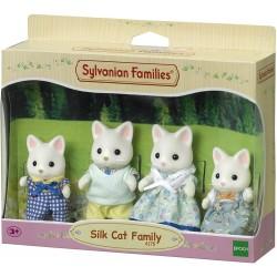 Sylvanian Families 4175 Rodina hodvábnych mačičiek 4-členná