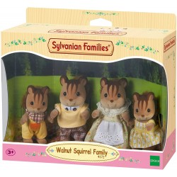 Sylvnian Families 4172 Rodina hnedých veveričiek